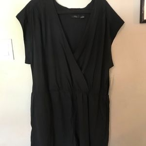 Plus Size faux wrap Romper - New With Tags!